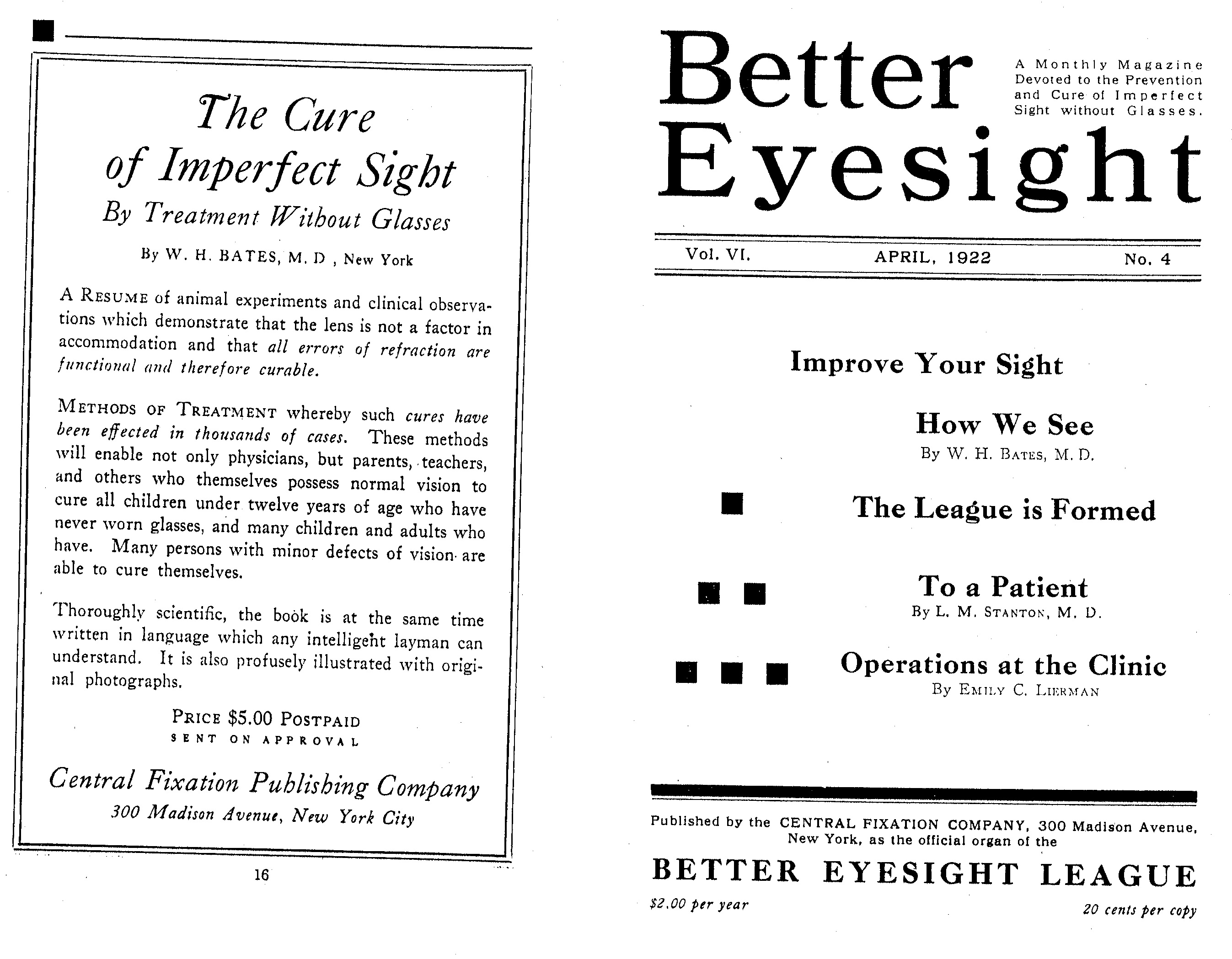 9 Better Eyesight League