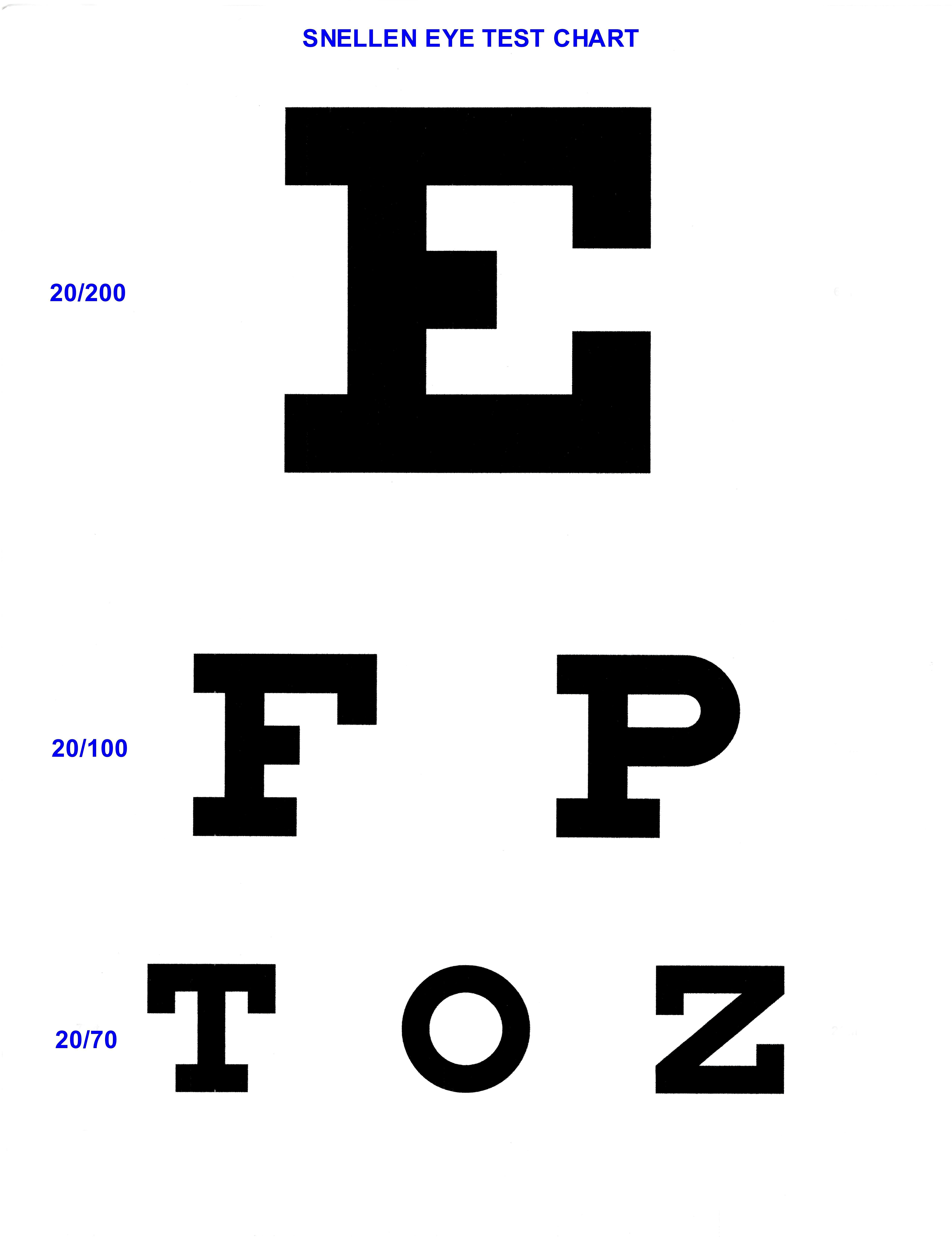 E EYECHART Top page