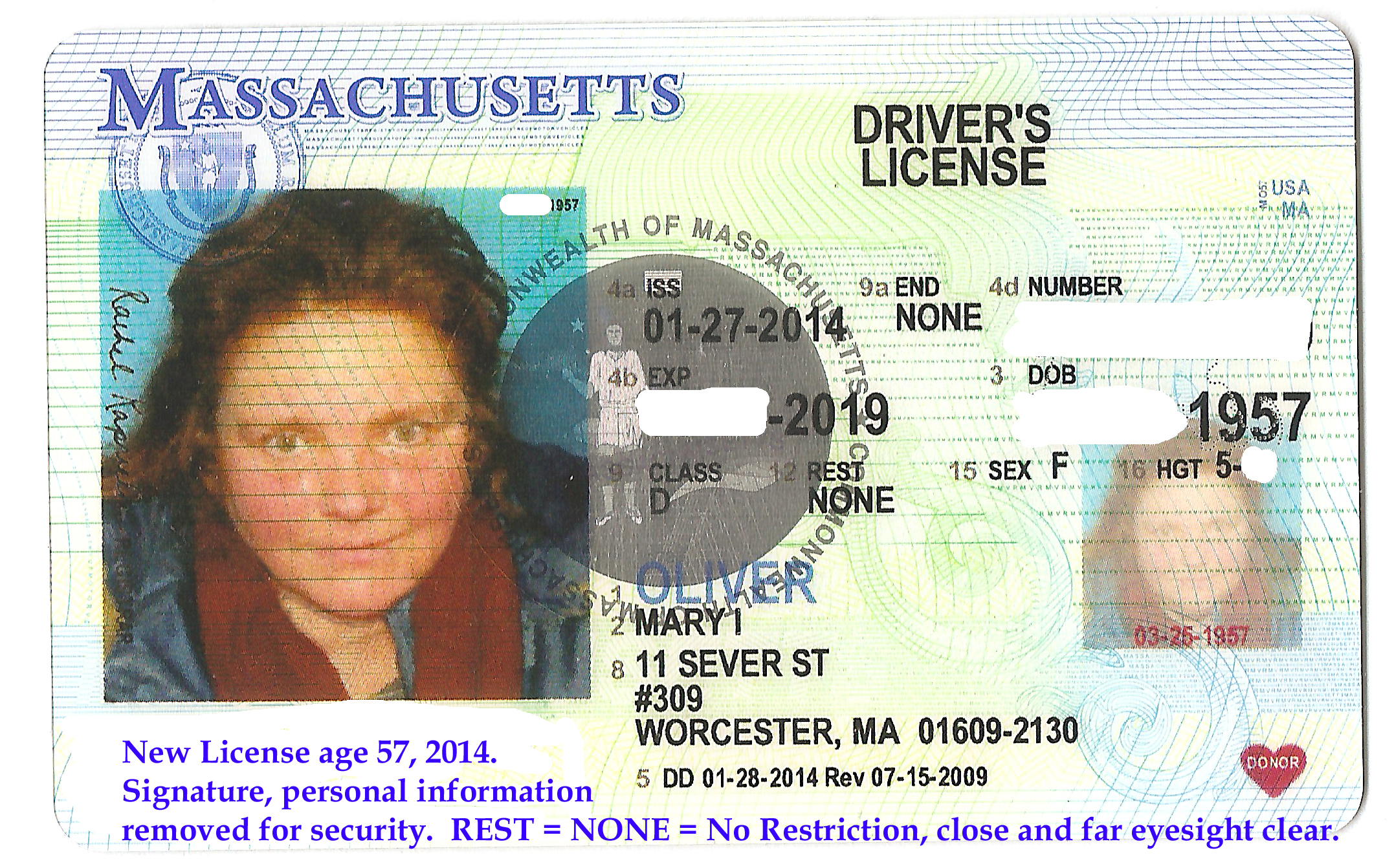Ma Car Registration: Drivers Licenses, Family History Photos